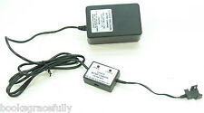 Elenco XR-5 12v Lead Acid Battery Charger - Tested Works - Clip Style Cable End