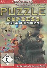 PC CD + Puzzle EXPRESS + TETRIS della nuova generazione + FERROVIE + Win 7 +