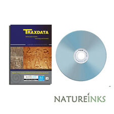 3 x Traxdata MDISC Full Face white Printable Blank DVD+R 4x 4.7GB blank M Disc