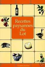 RECETTES PAYSANNES DU LOT livre cuisine