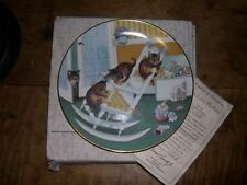 Vtg 1988 Hamiltion Collection Country Kitties Rock And Rollers Decorative Plate