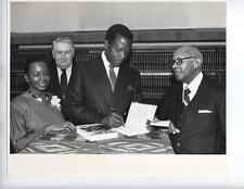 BERT ANDREWS African American phoographer Sidney Poitier Harlem rare vintage