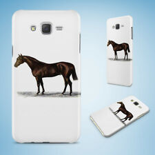 SAMSUNG GALXY J SERIES PHONE CASE BACK COVER HORSE SKETCH ART