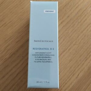 SkinCeuticals Resveratrol B E Antioxidant Night Concentrate 30ml - New & Sealed