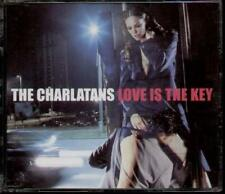CHARLATANS Love Is The Key  CD 3 Tracks, Radio Edit/It'S About Time/Viva La Soci