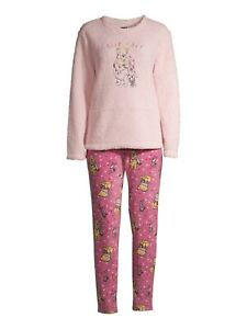 Disney Winnie the Pooh Ladies 2 Piece Pajamas PJ Set New 2020