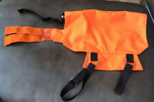 Safety Saddle Vest Blaze Orange Dog Vest By Definitely Dogwear Hunting Hiking