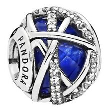 New PANDORA Royal Blue Galaxy charm Silver S925 ALE 796361NCB