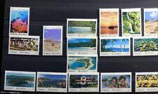 16 Francobolli PAESAGGI Vanuatu Yt 915/30 Nuovo MNH an402