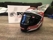 Kimi Raikkonen Mini Helmet 1/2 1:2 Ferrari 2015 F1 RARE