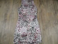 ORSAY chices bunt gemustertes Kleid creme Gr. 34 TOP MD1017