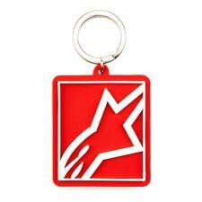 Alpinestars CORP SHIFT Red Keyring Keytag Keyfob BRAND NEW GENUINE