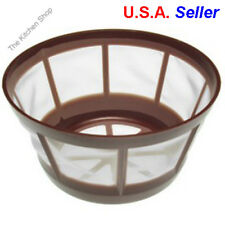 Permanent Coffee Filter 8-12 Cup Basket Universal Nylon Mesh Reusable Cone New