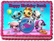 LITTLEST PET SHOP EDIBLE CAKE TOPPER BIRTHDAY DECORATIONS