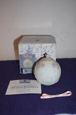 Lladro 1996 Ball ornament Mib with Coa and unused ribbon 16298