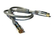 Techlink 680115 High Quality 5m TV Aerial Cable Male to Female