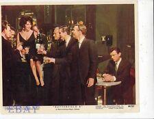 Elizabeth Taylor sexy Vintage Color Card Butterfield 8