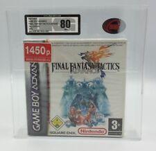 Gameboy Advance Final Fantasy Tactics Advance Pal 2003 UKG classé 80+ Presque comme neuf!