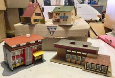 FALLER HO lot 4 maisons de ville bâtiment immeuble decor train