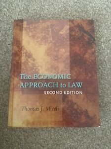 The Economic Approach to Law, Second Edition by Thomas J. Miceli (2008,...