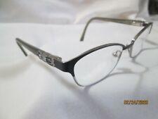 Karen Kane Petites MOONFLOWER Eyeglasses Frames Black Silver 49-15-135