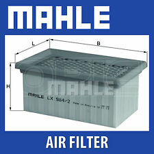 MAHLE Motorbike Air Filter LX984/2 for BMW Motorcycles - Single