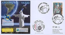 """VA220L-T2 FDC KOUROU """"ARIANE 5 Rocket - Flight 220 / INTELSAT-30 & ARSAT-1"""" 2014"""