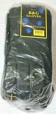 New B&G Top Quality Rubber PVC Dipped Heavy Duty Gloves - 12 Pair Size Large-11""