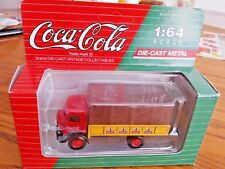 Coca Cola GMC T-70 Canopy Covered Delivery Truck Die Cast 1:64 Scale Hartoy