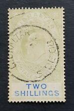 Gibraltar 1905 2s SG62 or 62a Bit Washout