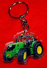 porte-cles tracteur john deere 1 keychain llavero schlusselring