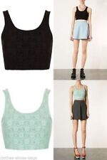 Topshop Lace Crew Neck Tops & Shirts for Women