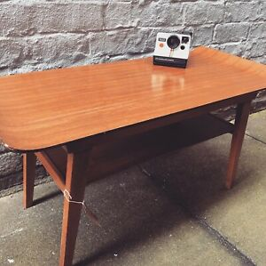 MYER Sledge Plywood Table. Vintage/Retro/Furniture/Coffee Table/Side Table