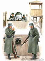 Master Box 3546 - Watch tower People War Stronger Man Police 1/35 scale