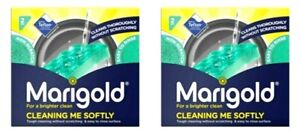 4 Marigold Cleaning Me Softly Non Scratch Foam Scourer Kitchen Washing up Pads