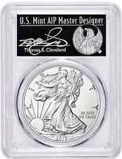 2017 SILVER EAGLE MS70 PCGS First Day of Issue POPULATION 150 THOMAS CLEVELAND