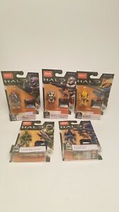 NEW Mega Construx Halo Heroes Infinite Set Of 5