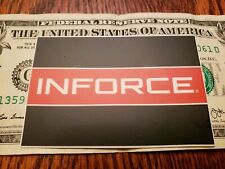 INFORCE tactical flashlight Sticker authentic