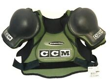 New Nos Ccm Powerline Ims Msp220 Hockey Shoulder Pads Green - Adult Men'S Small