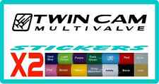 Twin cam stickers for Toyota Landcruiser - 16 colours. Land Cruiser