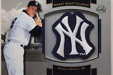 Roger Maris NY Yankees 2003 Upper Deck #P-RM1 Sweet Spot Souvenir Logo Patch