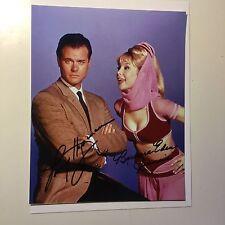 I Dream of Jeannie TV show double autograph w/ Fanexpo COA