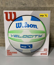 Wilson Velocity AVP Beach Recreational Series Volleyball, Official Size