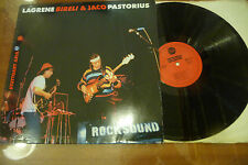 "JACO PASTORIUS/LAGRENE BIRELLI""STUTTGARD ARIA-disco 33 giri JAZZ Ger.1980"""