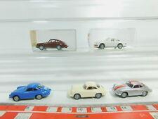 BO608-0,5 # 5 X Wiking H0 / 1:87 Camión Porsche: 161 911+164 Carrera Etc. ,Nuevo