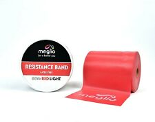 Latex Free Resistance Band 50 Yard Red Light - Meglio