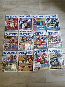 12x n-zone 2017 Jahrgang komplett   Nintendo Magazin