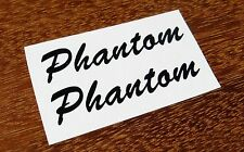 2 Vox Phantom Guitar Headstock Decals Waterslide Decal Vintage Guitar Teardrop