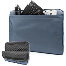 VanGoddy Nylon Sleeve Case for Microsoft Surface Pro 4 3 / HP Spectre x2 Blue