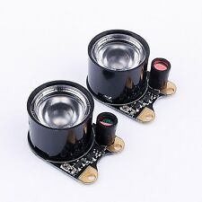 Infrared LED Light,2PCS 3W 850 IR High-power Night Vision Infrared Illuminator